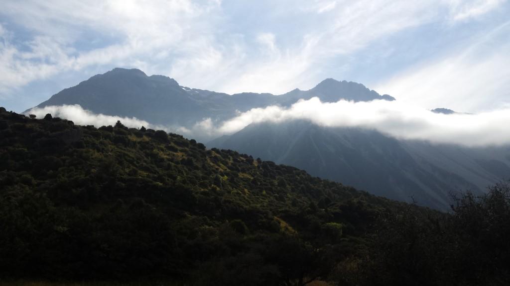 Auf der Wanderung in Wanaka