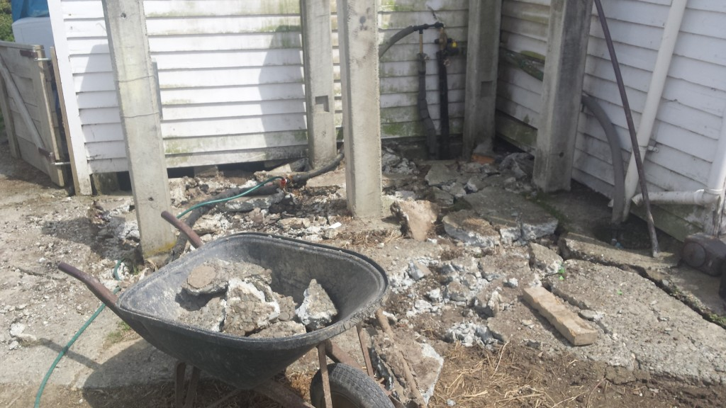 WWOOFen_Neuseeland_Betonarbeit (3)