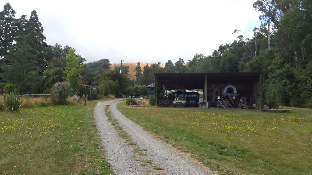 WWOOFing_Neuseeland_Gartenweg