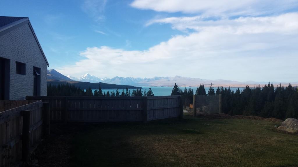 Mein Ausblick auf den Lake Pukaki